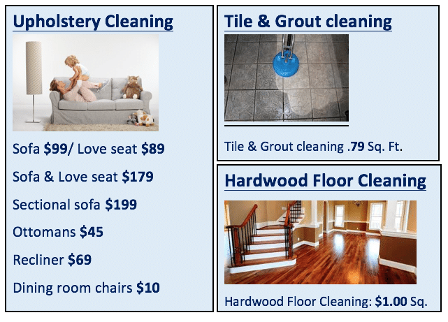 True Clean Carpet Cleaning Pricing